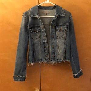 Jean jacket from a local boutique